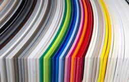 PVC dei bordi dei campioni Fotografia Stock Libera da Diritti