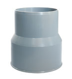 PVC draining bushing Stock Images