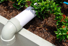 PVC Drainpipe Royalty Free Stock Images