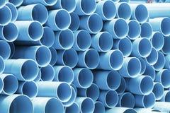 PVC drymby dla wody pitnej Fotografia Stock