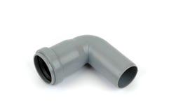 PVC ferrure de coude de 90 degrés Photo stock