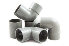 Pvc fittings Royalty Free Stock Photography
