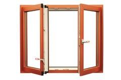 PVC klingerytu okno Obraz Stock