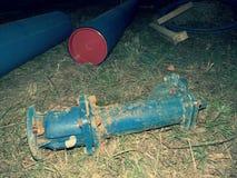 Pvc-pijpen voor drinkbaar waterpijpleidingen stock afbeelding