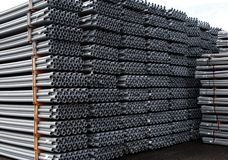 PVC Pipe. Ready for use stock photos