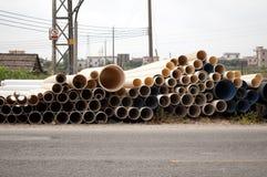 Pvc pipe Stock Photo