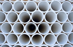 PVC pipe pattern Stock Photo