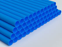 PVC pipes Royalty Free Stock Photo