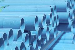 PVC pipes Royalty Free Stock Photography