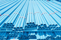 PVC pipes for drinking water. Stock Photos