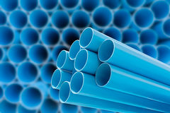 PVC pipes for drinking water. royalty free stock photo