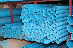 PVC pipes used for construction. Stock Images