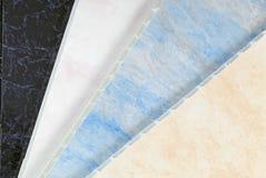 Pvc plastic cladding Stock Image
