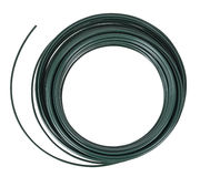 PVC plastic coated wire roll, isolated Stock Photography