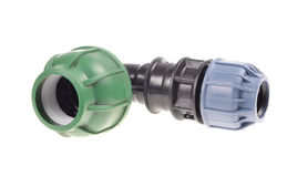 Pvc plumbing fittings Stock Photography