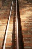 PVC-Rohr auf der Wand Lizenzfreie Stockfotos