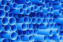 PVC-Rohre für das Trinken Stockbild