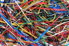 PVC scrap of electric wire Stock Photography