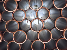 Pvc tubes Stock Images