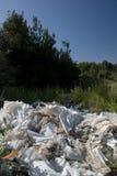 PVC vaciado en naturaleza Fotografía de archivo