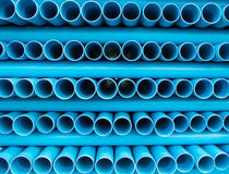 PVC water pipe Royalty Free Stock Photos