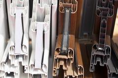Plastic window profiles Royalty Free Stock Photo