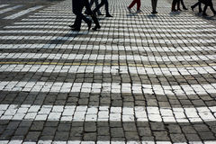 Pvement im Roten Platz. Lizenzfreies Stockfoto