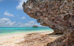 Pwani Mchangani Zanzibar Στοκ Εικόνες
