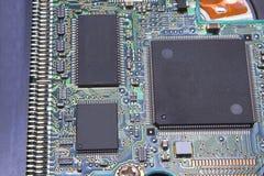 PWB de la tarjeta de circuitos impresos Fotos de archivo libres de regalías