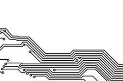 PWB (gedrucktes Leiterplatte) 6 Lizenzfreie Stockbilder