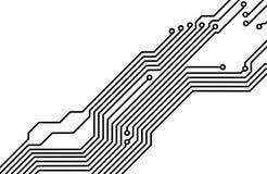 PWB (tarjeta de circuitos impresos) 8 Imágenes de archivo libres de regalías