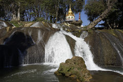 Pwe Kauk Water falls, Pyin Oo Lwin, Myanmar Royalty Free Stock Photo