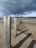 Pwllheli Beach Royalty Free Stock Photos