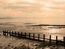 Pwllheli Beach View Royalty Free Stock Image