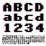 Pxiel字体 库存图片
