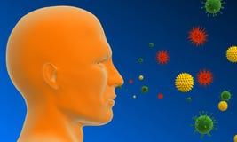 pyłek na alergię Zdjęcie Stock