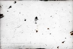 Pył i narysy na fotograficznym papierze Fotografia Royalty Free