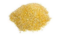 pyłu kukurydzany stos Zdjęcie Stock