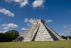 Pyarmid Chichen Itza Mexiko Lizenzfreies Stockfoto