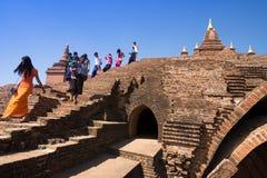 Pyathada (Pyathatgyi) świątynia Zdjęcia Royalty Free
