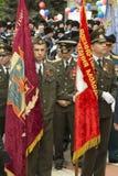 PYATIGORSK, RUSIA - 9 DE MAYO DE 2014: Victory Day en WWII El standa Fotografía de archivo
