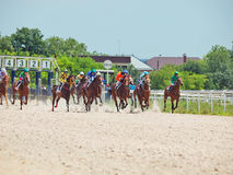 PYATIGORSK,RUSSIA - JULY 7: start of race for the Big prize OaKS Stock Image