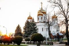 Pyatigorsk, Stavropolsky Region, Russia - April 5, 2018: Cathedral of Christ Savior Spassky Cathedral in Pyatigorsk stock image
