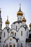 Pyatiprestolny-Dreifaltigkeitskirche in Iver-Kloster in Rostow - auf- D Lizenzfreie Stockfotos