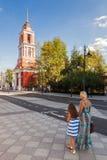 Pyatnitskaya street after renovation, Moscow, Russia Stock Image