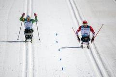 Pyeongchang 2018 centre de biathlon du 14 mars - dans S transnational photo stock