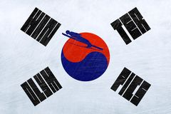 South Korea Winter Olympics - Ski jumping Stock Image