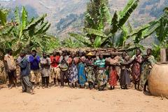 Pygmées Photo stock