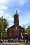 Pyhan Henrikin Katedraali, StHenry domkyrka i H Fotografering för Bildbyråer