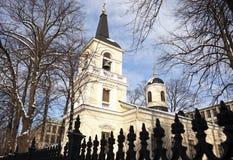 Pyhan Kolminaisuuden Kirkko - Holy Trinity Church Royalty Free Stock Photography